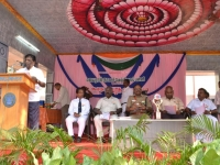 67th Republic Day – 26.01.2016 – President Mr. S. Selvaraj giving the presidential address