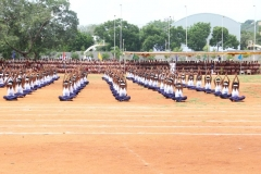 63RD ANNUAL SPORTS DAY - 07.12.2019 - STUDENTS PERFORMING DRILL