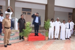 73RD INDEPENDENCE DAY -15.08.2019 - CHIEF GUEST Mr ISAC MOHANLAL