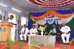 73RD INDEPENDENCE DAY -15.08.2019 - SCHOOL SECRETARY Mr S SELVARAJ GIVING WELCOME ADDRESS