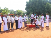 63RD ANNUAL SPORTS DAY - 07.12.2019 - CHIEF GUEST DIPE Mr. P. SENKATHIR LIGHTING OLYMPIC TOURCH