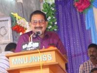 63RD HOSTEL DAY 11.01.2020-Mr P.DHARMARAJ, PRESIDENT, ADDRESSING THE GATHERING